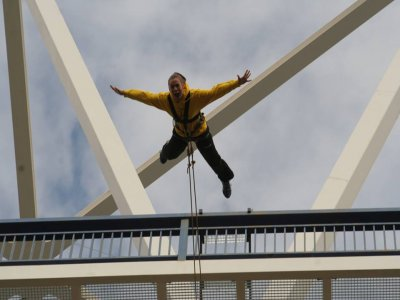Bungee Jumping in Gador with Video