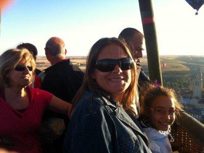 Balloon Ride for Kids, Video & Pics, Guadarrama