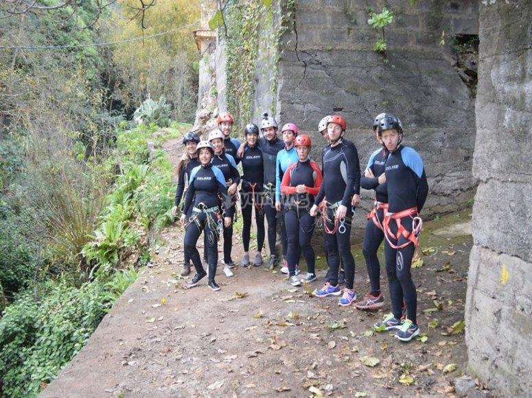 大加那利群岛的峡谷群