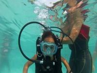Inizio dell'immersione