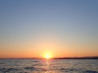 Il tramonto a Tarragona