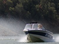 通过monoski滑雪船船航海-999