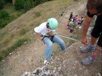 Escalando la cima