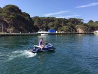 Guided 2-seater jet ski tour in Platja D'Aro 1h