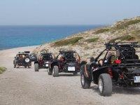 Recorriendo la costa de Mallorca en buggy