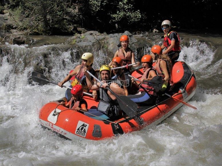 Adrenaline in the raft
