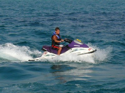 Two-seater jet ski rental. El Arenal. 20min