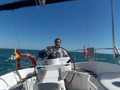 Alquiler de velero 4 horas verano, Costa de la Luz