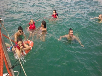 Noleggio barche a vela Oceanis 411, 1 settimana estiva