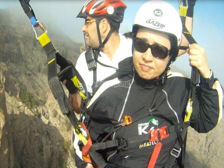 滑翔伞飞行与教练