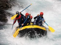 Rafting near Aínsa