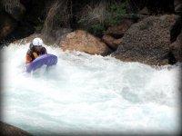 Hydrospeed in river