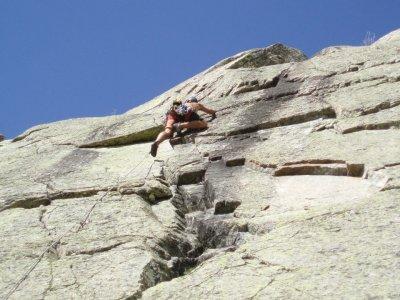 半天在阿维拉攀岩