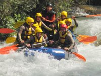 Rafting with monitor
