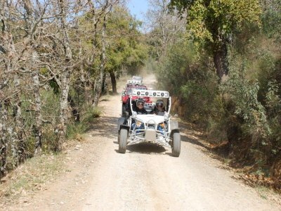 Buggy route 1 or 2 people in province Badajoz 1h