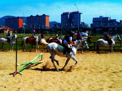 1h horse riding class in Laredo