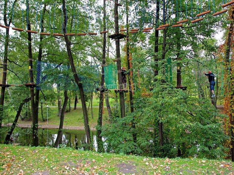 Parque de cuerdas