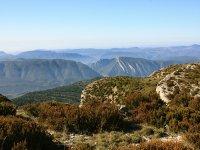 Perspectiva de la Sierra del Montsec