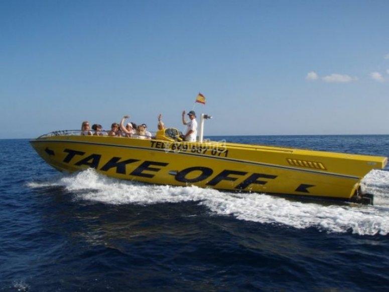 乘船游览伊维萨岛