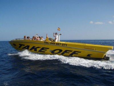 Noleggio barche alta stagione, Ibiza, mezza giornata