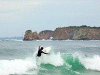 surfeando por la cresta