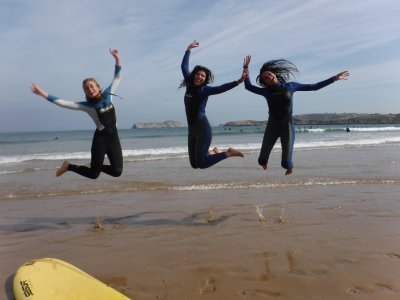 Surf, Lodging and Sauna 2 days Suances H. Season