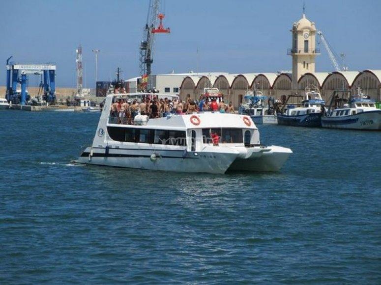 Gandia Boat Party