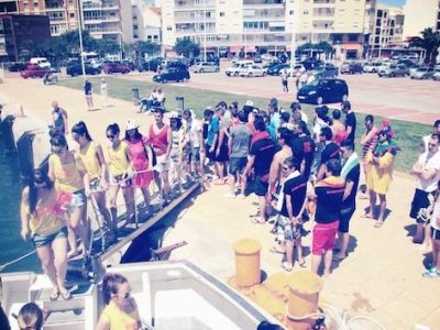 Boat Party + Puesta de sol + Cena 3 horas