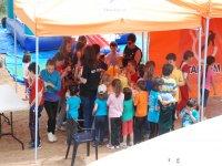 孩子们在帐篷性质