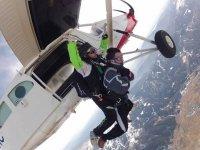 Hacer paracaidismo en Cuenca