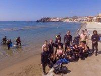 在Costa Murciana潜水