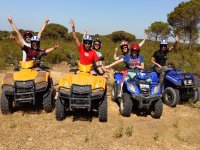 1-Seater Quad Route in Pinares de Cartaya