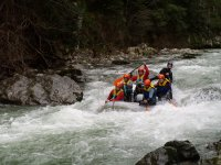 Rafting on the Deva