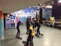 Entrenando el skate