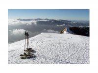 享受雪域景观