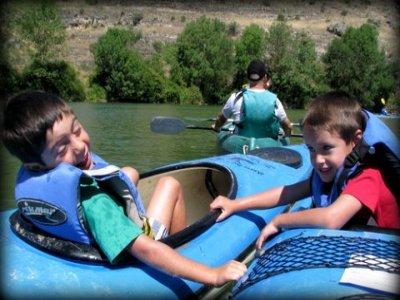 Kayaking, Hoces del Duratón, kids