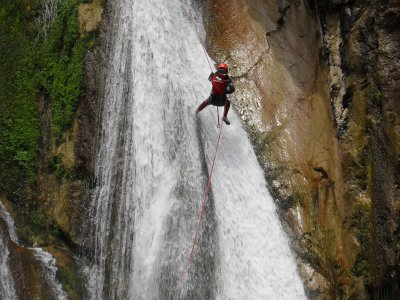Estret de les Penyes canyon d'acqua