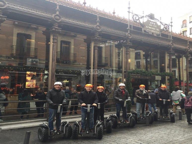 Los rincones más típicos de Madrid en segway