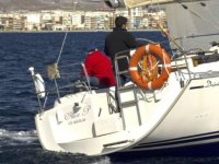 Embarcacion navegando
