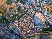 Vista aérea de Solsona