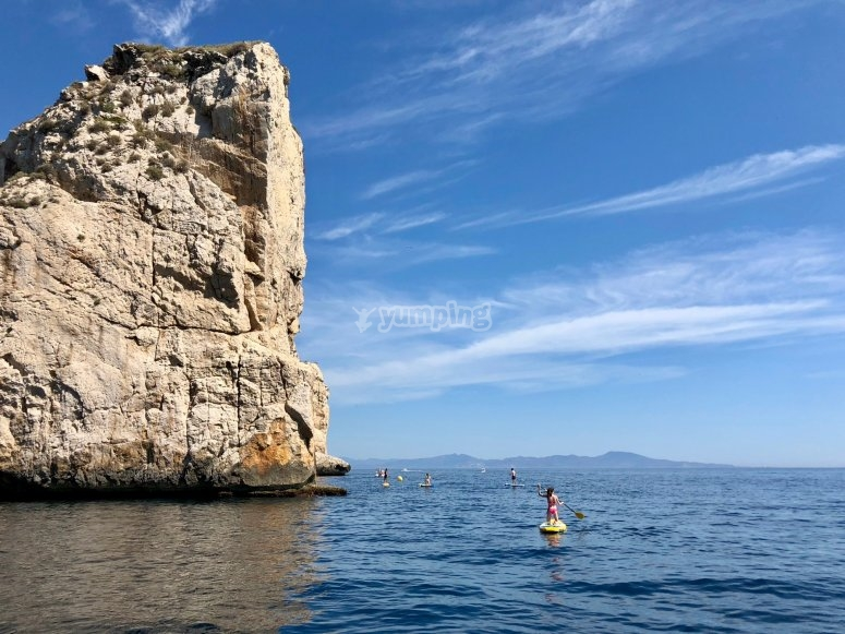 划桨运动至Medes群岛
