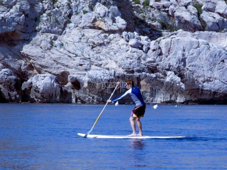 Navega en paddle surf