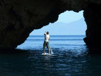 Impresionantes lugares, en paddle surf