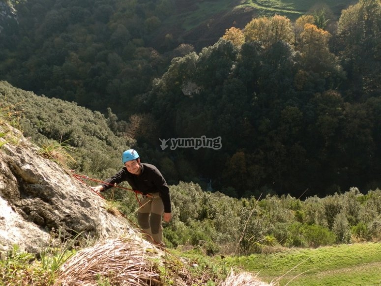 Iniciacion a la escalada