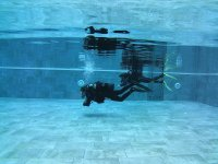 学习在密闭水中潜水