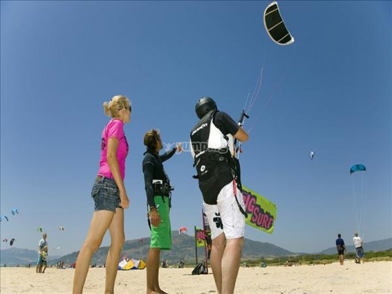 Delta del Ebro kitesurf school