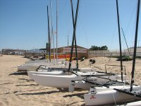 Desde la playa de Oliva