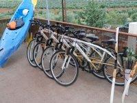 自行车和皮划艇