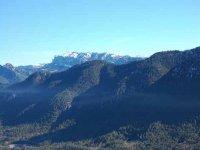 Sullo sfondo la Sierra Jienense