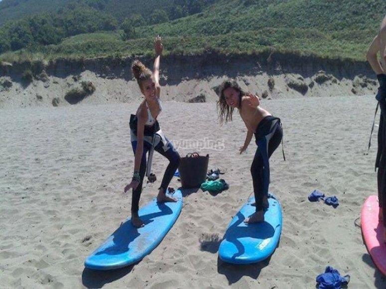 Surf camp in Asturias